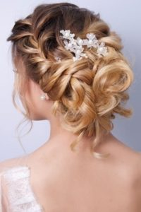 Beautiful wedding hairstyles Gatsby and Miller Hair Beauty Salon Amersham