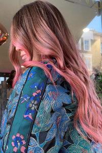 pink balayage, Gatsby & Miller Hairdressers & Beauty Salon in Amersham, Buckinghamshire