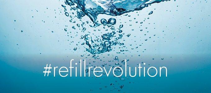 refill revolution, gatsby & miller hair & beauty salon, amersham, fighting against pollution