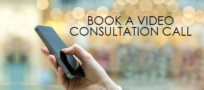 BOOK A VIDEO CONSULTATION CALL banner