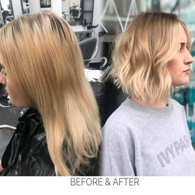 face frame and colour melt packages at GM hair salonamersham
