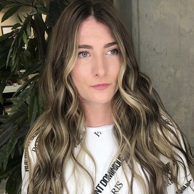 face framing highlights gatsby miller hairdressing salon amersham