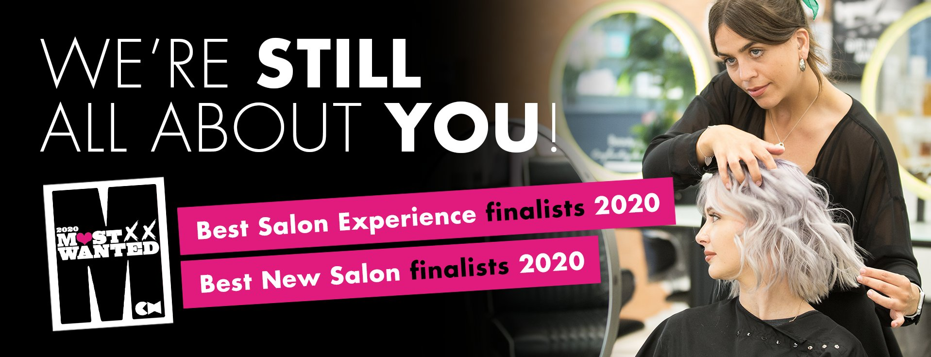 AWard winning GAtsby & Miller Hair Salon in Amersham, Buckinghamshire