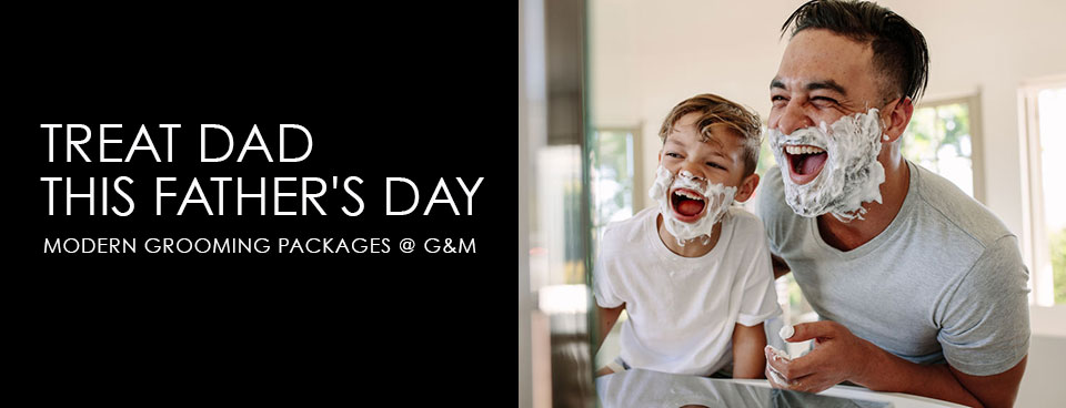 fathers day packages at gatsby & miller salon in amersham