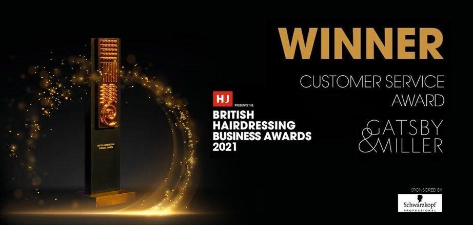 Gatsby Miller in Amersham win Best Customer Service Award